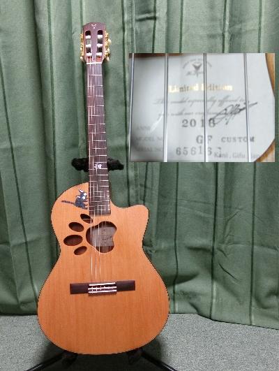 K.yairi カスタムオーダー 肉球ギター