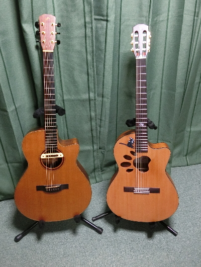 K.yairi オリジナルオーダー 肉球ギター