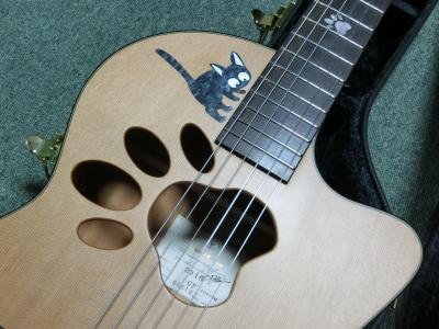 K.yairi オーダーメイド 肉球ギター