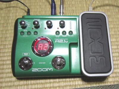 マルチエフェクター Zoom A2.1u