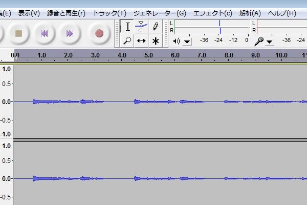 Audacity 音量1