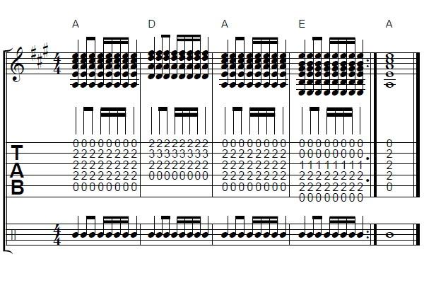 16分音符1