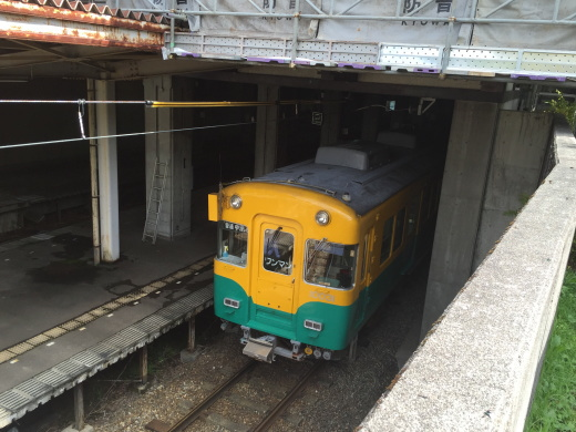 立山駅 ワンマン