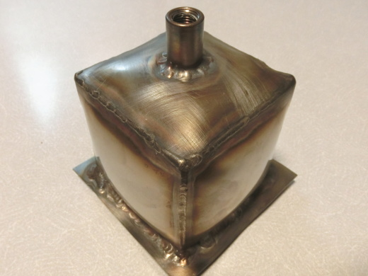 TIG溶接圧力容器