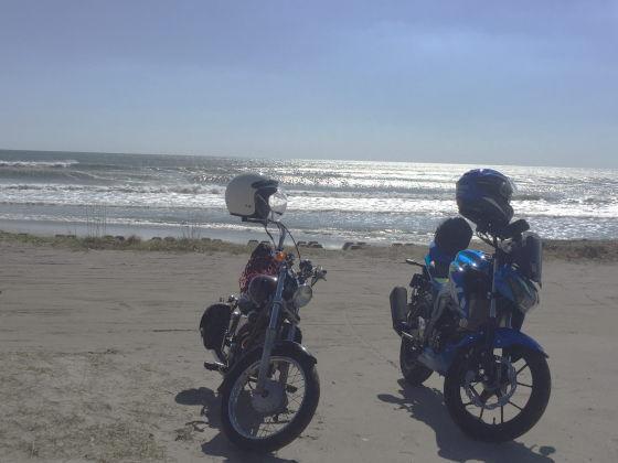 海とGSX125